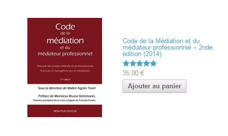 Code de la Médiation